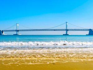 La plage de Haeundae