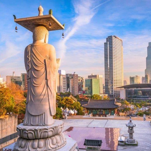 Seoul en Corée du Sud