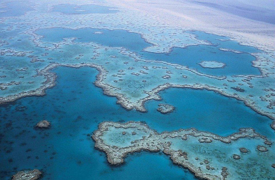 La Grande Barrière de Corail au nord-est de l'Australie