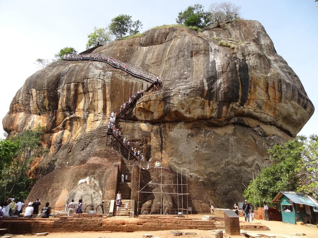 Sigiriya ou le rocher du lion au Sri Lanka