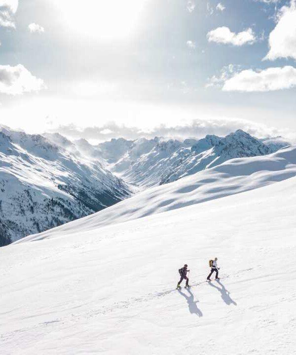 Courchevel se protéger au ski